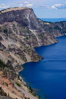 Photograph - Surfside Crater Lake by Tikvah's Hope