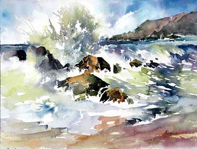 Surfside Crescendo Art Print