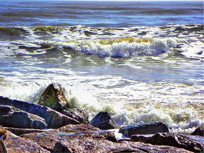 Priska Wettstein Land Shapes Series - Surfside Jetty by Savannah Gibbs