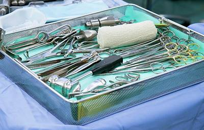 Hammer Photograph - Surgical Tools by Mark Thomas