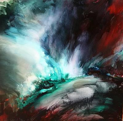 Extreme Weather Painting - Surging Voretx by Lissa Bockrath