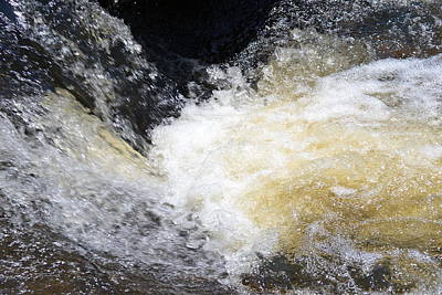 Art Print featuring the photograph Surging Waters by Tara Potts