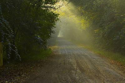 Photograph - Country Road by Kenneth Hall