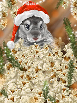 Christmas Digital Art - Surprise by Veronica Minozzi