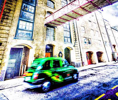 Surrealism Royalty Free Images - Surreal London Royalty-Free Image by David Pyatt