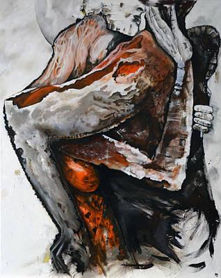 Painting - Surreal Lovers 2 by Jakub DK