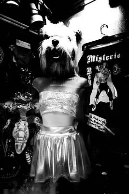 Photograph - Surreal Nightmare Shop Window In New Orleans by Louis Maistros
