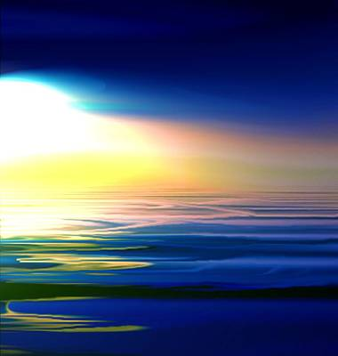 Surrealism Royalty-Free and Rights-Managed Images - Surreal seascape by Salvatore Cammarata