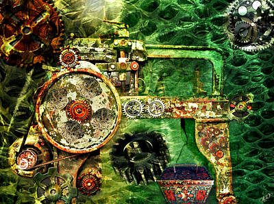 Steampunk Royalty-Free and Rights-Managed Images - Surreal Steampunk by Ally  White