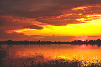Photograph - Surreal Sunset by Robert Bales