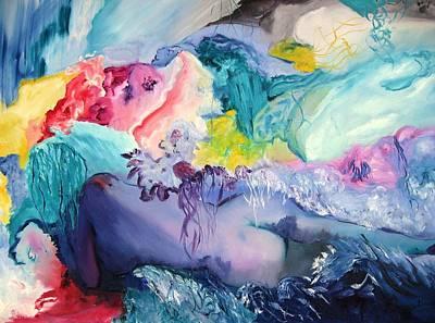 Oil Painting - Surrealism by Doris Cohen