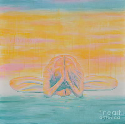 Painting - Surrender by Jaswant Khalsa