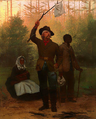 Surrender Of Of A Confederate Soldier Print by Mountain Dreams