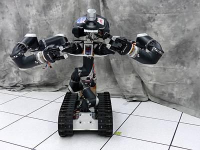 Manipulation Photograph - Surrogate Robot by Jpl-caltech