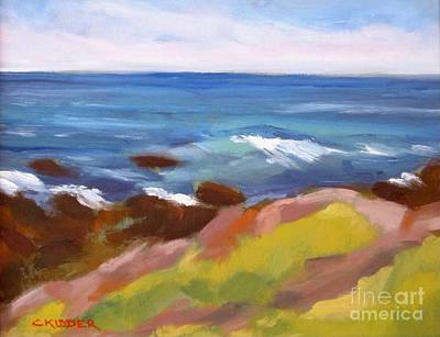 Surrounded By The Sea Original by Colleen Kidder