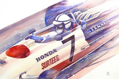 Transportation Painting - Surtees by Robert Hooper