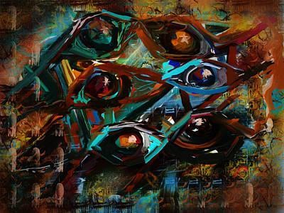 Surveillance Art Print by Jo-Anne Gazo-McKim