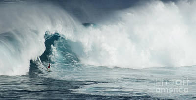Laird Hamilton Photograph - Survival Mode by Bob Christopher