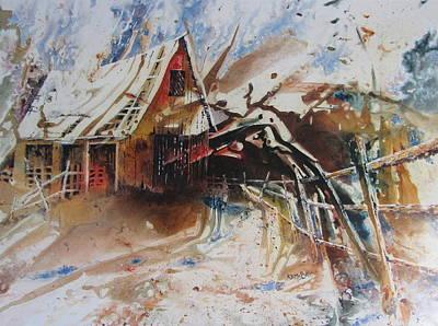 Surviving A Storm Art Print by Ken McBride