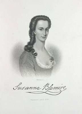 Susanna Blamire Print by British Library