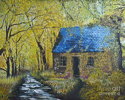 Painting - Susan's Cottage by Suzette Kallen