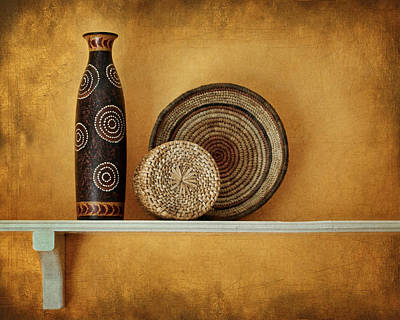Photograph - Susan's Shelf - Still Life by Nikolyn McDonald