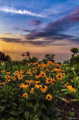 Beauty Mark Photograph - Susan's Sunset by Mark Papke