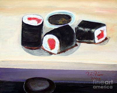 Sushi 2 Art Print by To-Tam Gerwe