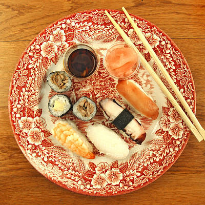 Photograph - Sushi by Nop Briex