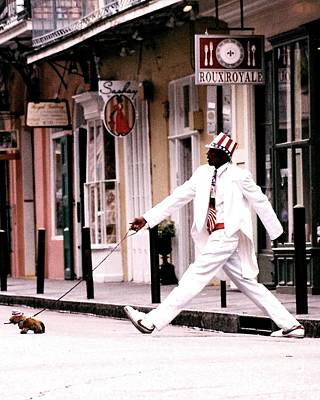 Photograph - New Orleans Suspended Animation Of A Mime by Michael Hoard