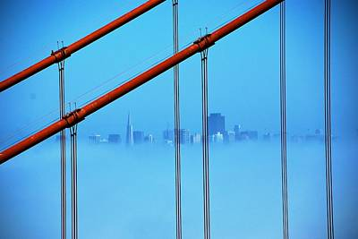 Photograph - Suspended Skyline by Eric Tressler