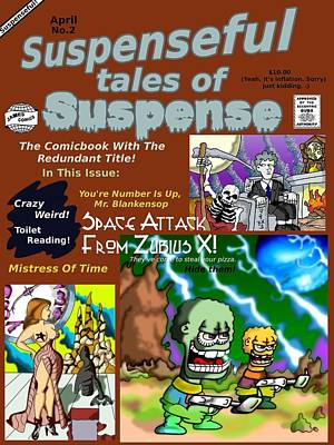 James Griffin Drawing - Suspenseful Tales Of Suspense No.2 by James Griffin