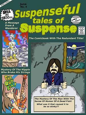 Suspenseful Tales Of Suspense No.4 Art Print by James Griffin