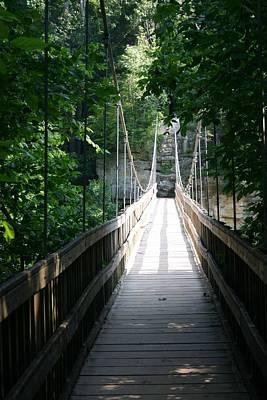 Suspension Bridge Original by Jamie Kaus