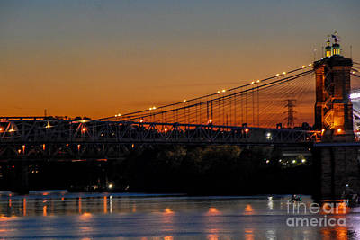 Photograph - Suspension Bridge by Mary Carol Story