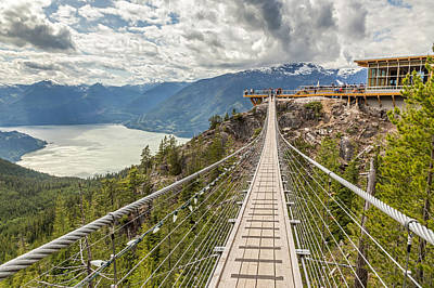 Photograph - Suspension Bridge by Pierre Leclerc Photography