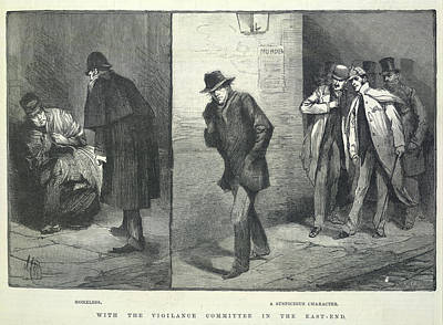 Suspicious Characters Art Print by British Library