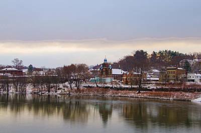 Susquehanna River At Pittston Pa Art Print