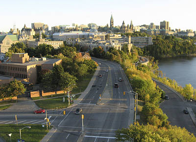 Photograph - Sussex Drive, Ottawa by Rob Huntley