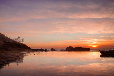Photograph - Sutro Baths by Kyle Simpson