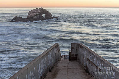Photograph - Sutro Sunset by Kate Brown