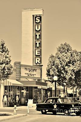 Photograph - Sutter Theater by Long Love Photography