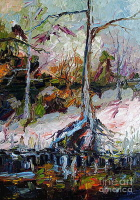 Painting - Suwanee River Black Water by Ginette Callaway