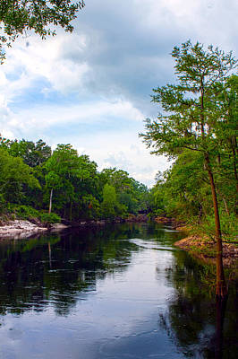 Photograph - Suwannee Overlook by Jeff Kurtz