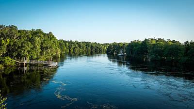 Suwannee River Photograph - Suwannee River by Louis Ferreira