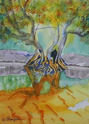 Suwannee River Ogeechee Tupelo  Art Print