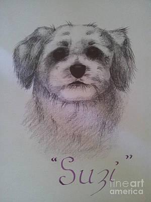 Suzi Art Print by Debra Piro