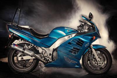 Photograph - Suzuki Rf600 R by Tim Nichols