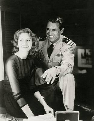 Photograph - Suzy Parker And Cary Grant by Henry Clarke