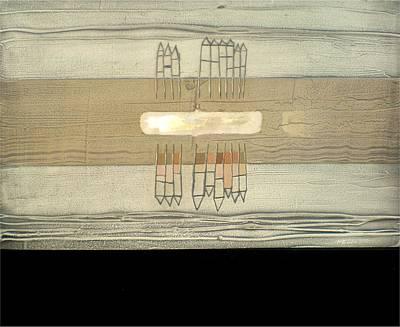 Abstracto Mixed Media - Sv301 Calle Graglonina by Ernesto Pedalino